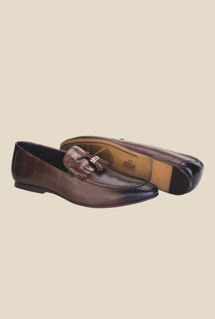 Tresmode Brown Casual Moccasins