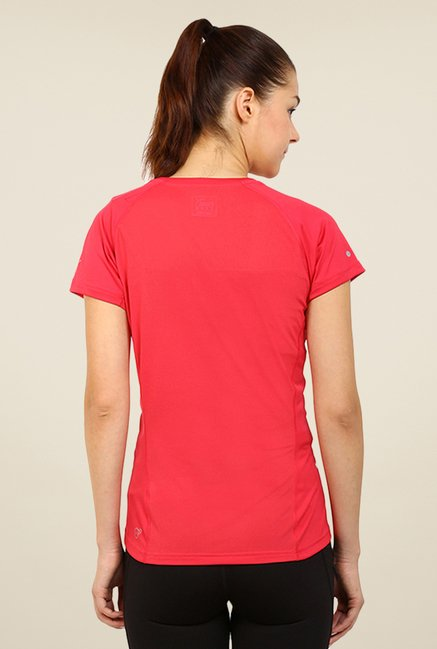 Puma Red Graphic Print Tee