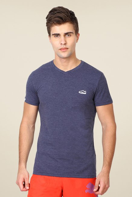 Puma Dark Blue Solid T-shirt
