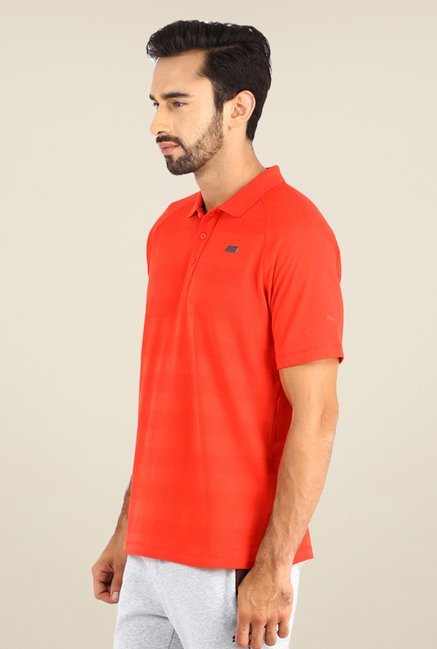 Puma BMW M Logo Red Striped T-shirt