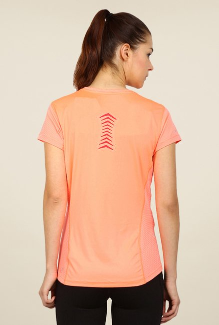 Puma Peach Striped Tee