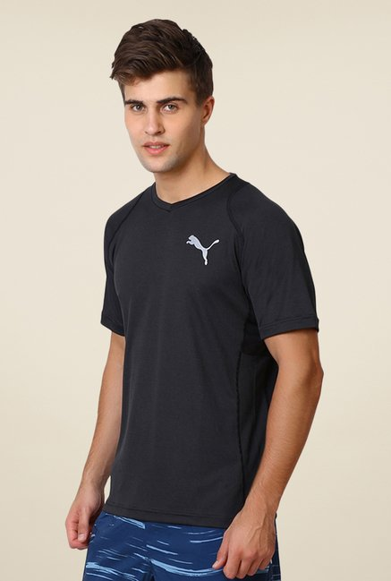 Puma Charcoal Solid T-shirt