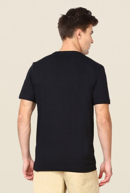 Puma Black Graphic Printed T-shirt