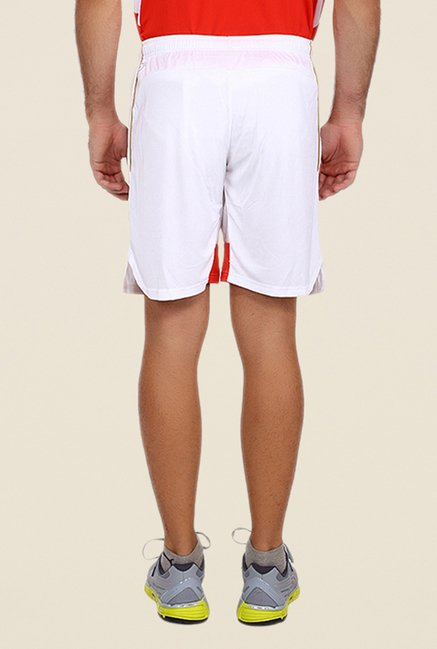 Puma White Solid AFC Replica Shorts
