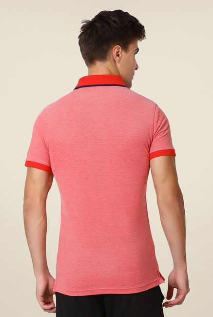Puma Red Solid T-shirt