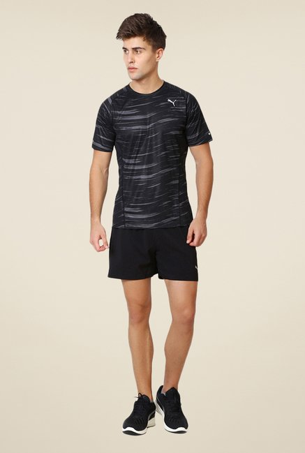 Puma Black Printed T-shirt