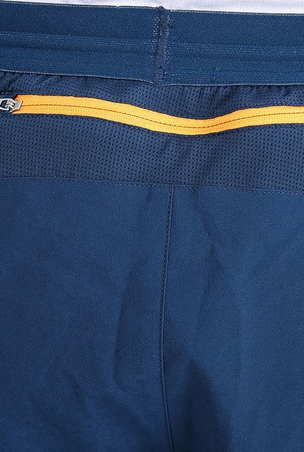 Puma Dark Blue Solid Shorts