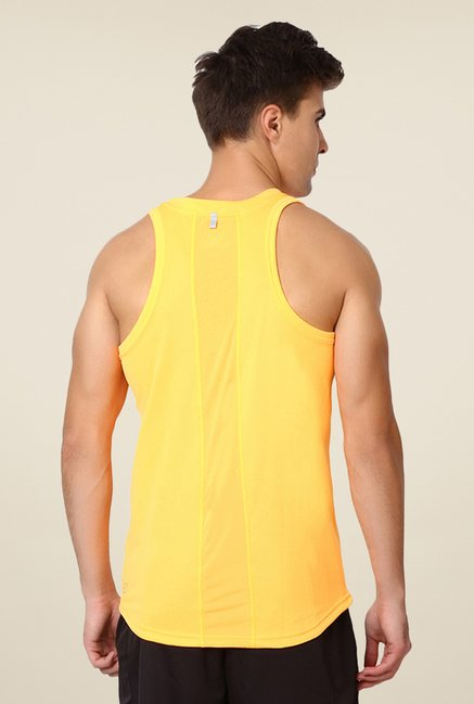 Puma Yellow Sleeveless Singlet