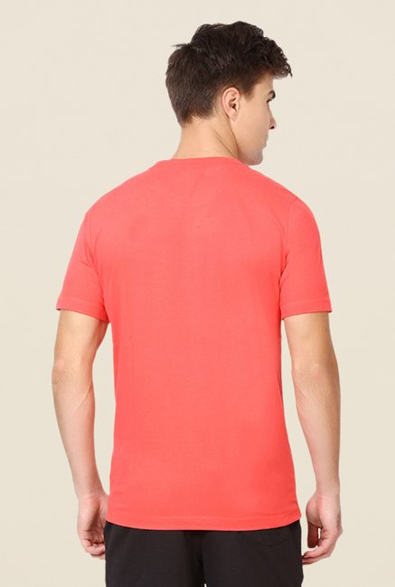 Puma Coral Graphic Printed T-shirt