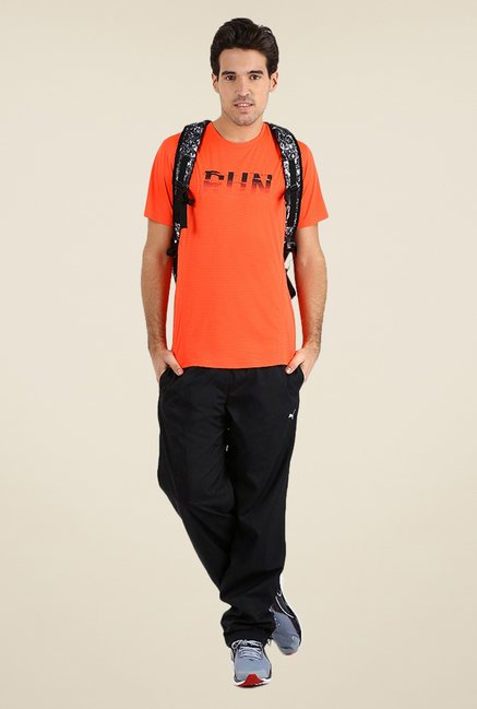Puma Orange Graphic Print T-shirt
