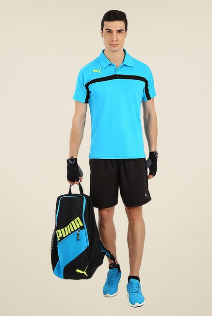 Puma Turquoise Solid T-shirt