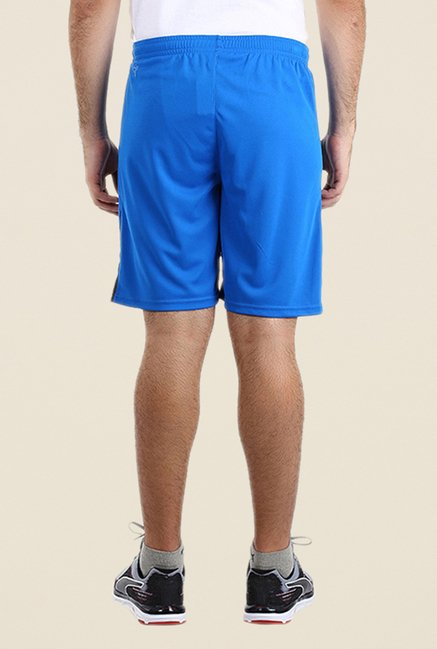 Puma Blue Solid Shorts