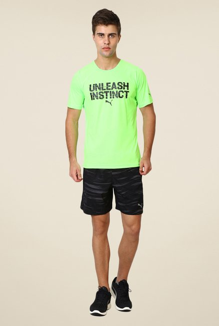 Puma Lime Graphic Print T-shirt