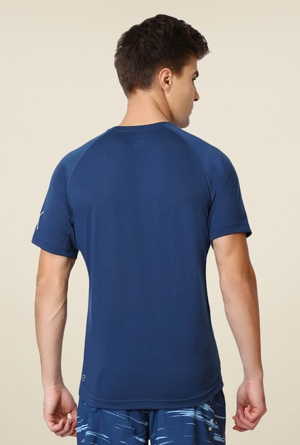 Puma Dark Blue Graphic Print T-shirt