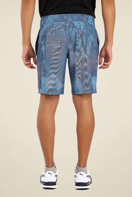 Puma Blue Printed Shorts
