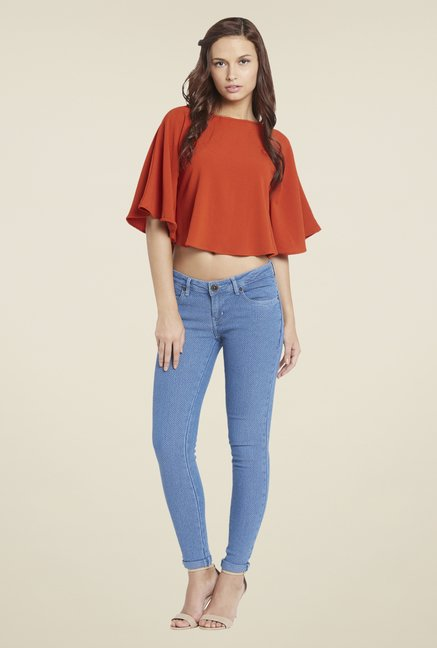 Globus Orange Solid Top