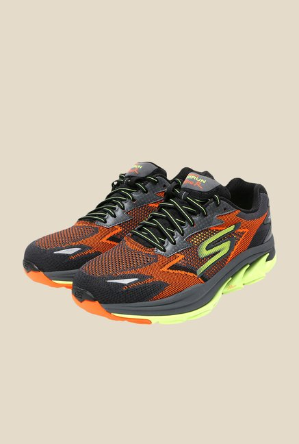 Skechers Gorun Ultra 2 Orange & Grey Training Shoes