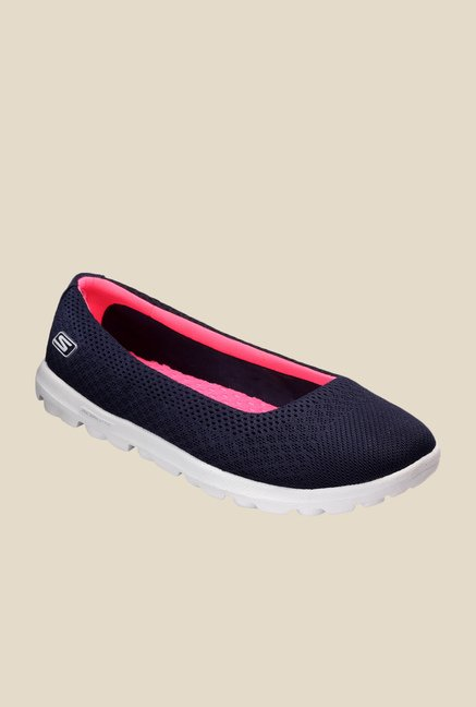 Skechers On The Go Ritz Navy Running Shoes