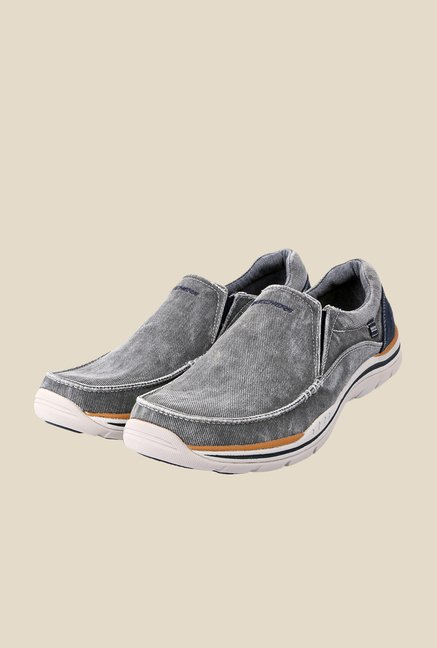 Skechers Avillo Grey Casual Shoes