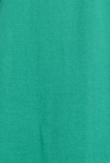 Globus Green Round Neck T Shirt