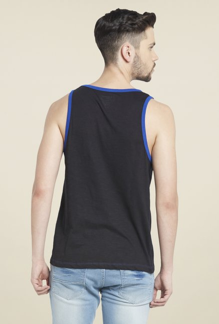 Globus Black Round Neck T Shirt