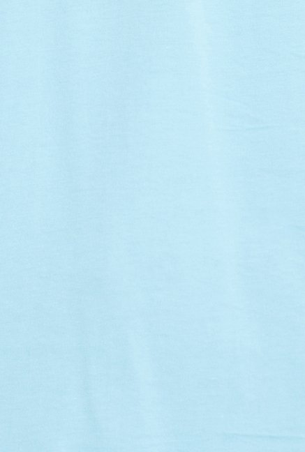 Globus Sky Blue Graphic Print T Shirt