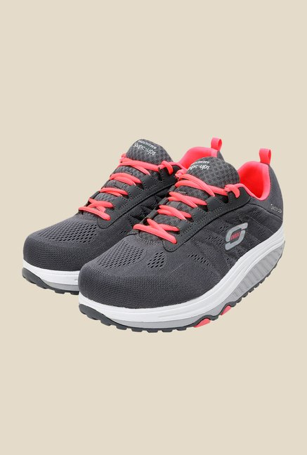 Skechers Shape Ups 2.0 Grey Running Shoes