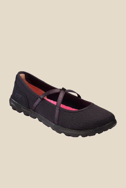 Skechers On The Go Point Black Running Shoes