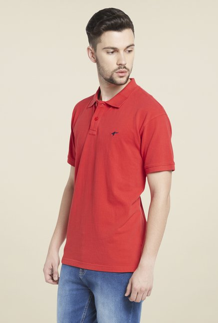 Globus Red Polo T Shirt