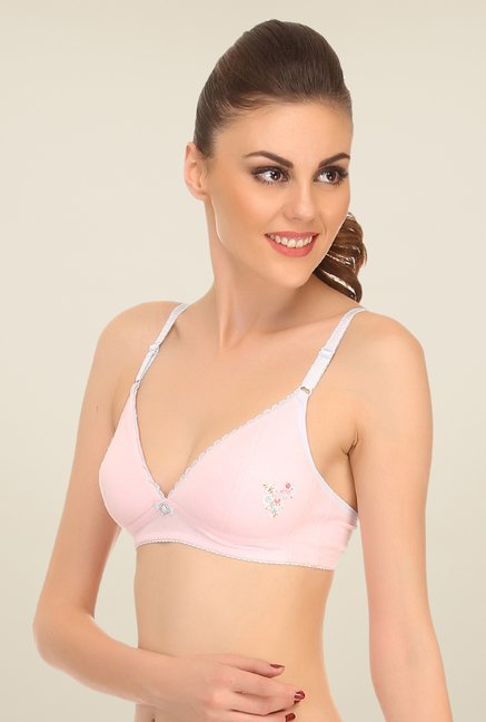 Clovia Light Pink Padded Teenage Bra