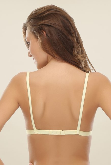 Clovia Lemon Non Padded T Shirt Bra