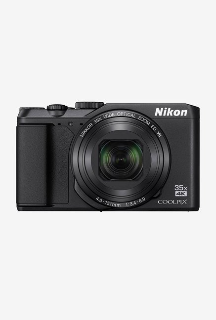Nikon A900 20 MP Point and Shoot Camera (Black)