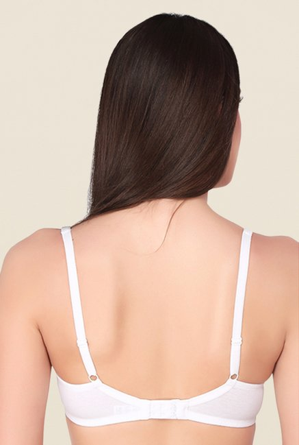 Soie Black & White Full Coverage Balconette Bra (Pack Of 2)