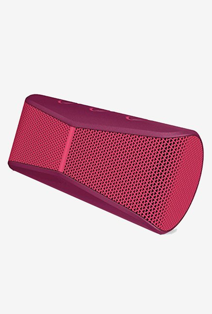 04b2f11c8dc Buy Logitech X300 Mobile Wireless Speaker (Red) online at best price ...