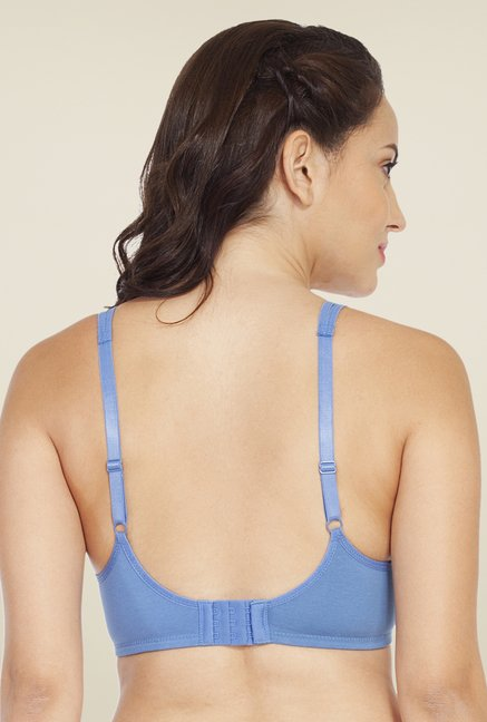 Soie Blue Demi Cup Non Wired Non Padded Bra