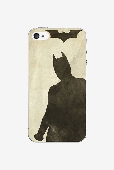 Ziddi BATMAN Hard Back Cover for iPhone 4S (Multi)