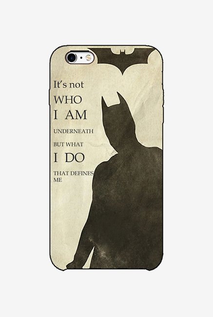 Ziddi BATMAN Hard Back Cover for iPhone 6S (Multi)
