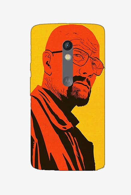 Ziddi BBAD Hard Back Cover for Moto X Play (Multi)