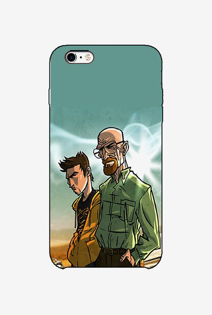 Ziddi BBBALD Hard Back Cover for iPhone 6 (Multi)