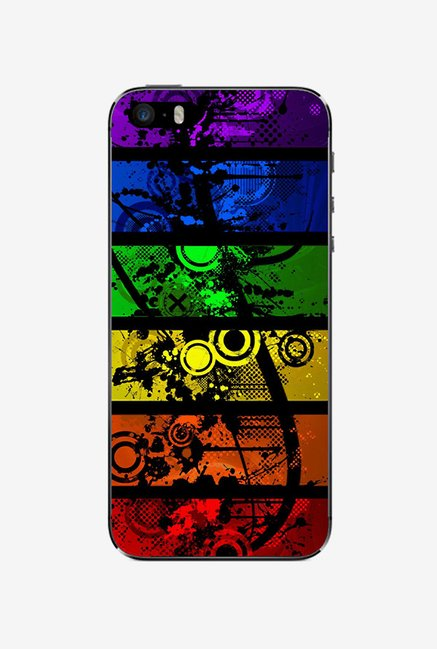 Ziddi ABSTRCT Hard Back Cover for iPhone 5 (Multi)