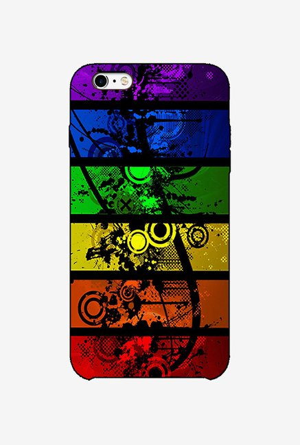 Ziddi ABSTRCT Hard Back Cover for iPhone 6S (Multi)