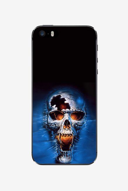 Ziddi ANGRYSKUL Hard Back Cover for iPhone 5 (Multi)