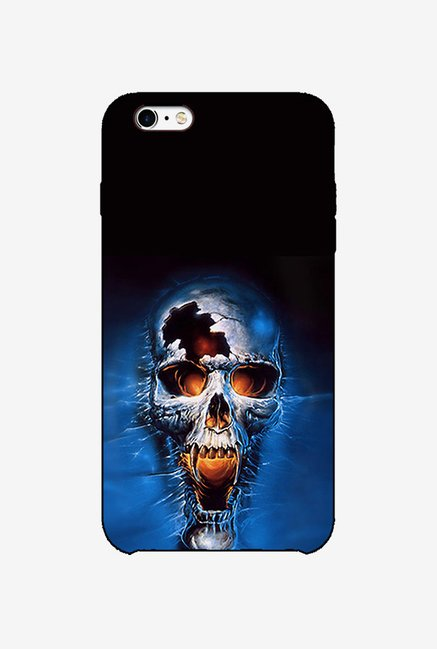 Ziddi ANGRYSKUL Hard Back Cover for iPhone 6 (Multi)