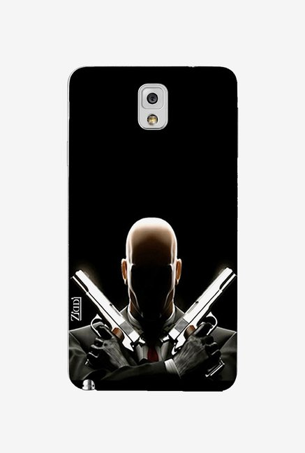 Ziddi BADGUY Hard Back Cover for Galaxy Note 3 (Multi)