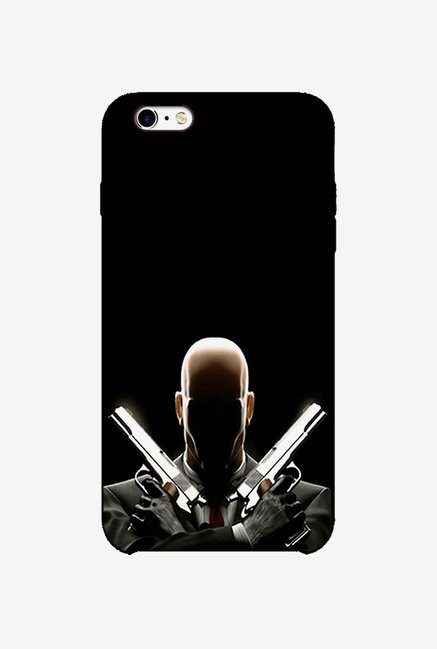 Ziddi BLDPISTL Hard Back Cover for iPhone 6S (Black)