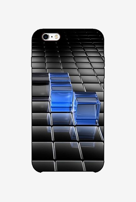 Ziddi BLUCUBE Hard Back Cover for iPhone 6 (Multi)