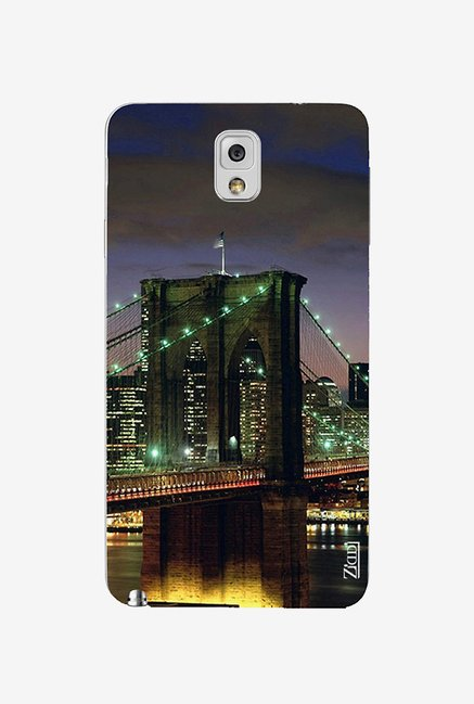 Ziddi BRIDGE Hard Back Cover for Galaxy Note 3 (Multi)