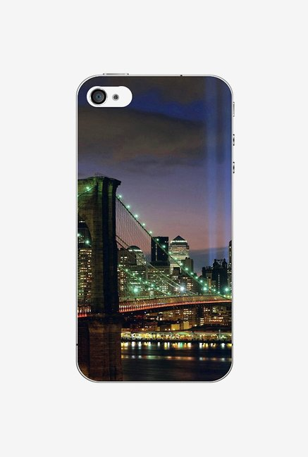Ziddi BRIDGE Hard Back Cover for iPhone 4S (Multi)