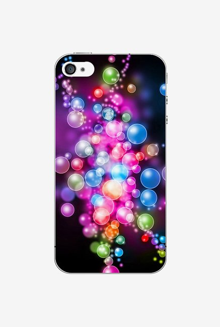 Ziddi BBLEFFCT Hard Back Cover for iPhone 4S (Multi)
