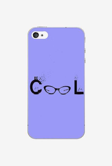 Ziddi BCOOL Hard Back Cover for iPhone 4S (Multi)